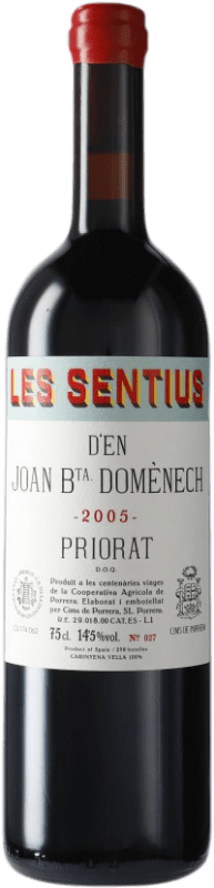 99,95 € | Red wine Cims de Porrera Les Sentius d'en Joan Bta. Domènech 2005 D.O.Ca. Priorat Catalonia Spain Carignan Bottle 75 cl