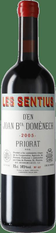 83,95 € Free Shipping   Red wine Finques Cims de Porrera Les Sentius d'en Joan Bta. Domènech 2005 D.O.Ca. Priorat Catalonia Spain Carignan Bottle 75 cl