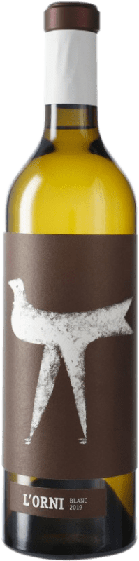 13,95 € Free Shipping | White wine Vins de Pedra L'Orni Blanc D.O. Conca de Barberà Catalonia Spain Chardonnay Bottle 75 cl