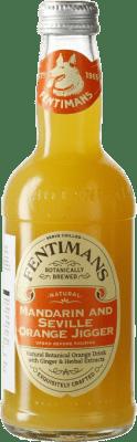 2,95 € Free Shipping   Soft Drinks & Mixers Fentimans Mandarin & Seville Orange Jigger United Kingdom Small Bottle 27 cl
