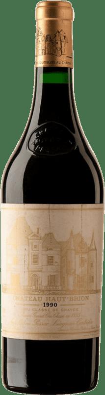 1 119,95 € Free Shipping | Red wine Château Haut-Brion 1990 A.O.C. Pessac-Léognan Bordeaux France Merlot, Cabernet Sauvignon, Cabernet Franc Bottle 75 cl