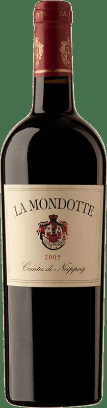 512,95 € Free Shipping | Red wine La Mondotte 2005 A.O.C. Saint-Émilion Bordeaux France Merlot, Cabernet Franc Bottle 75 cl