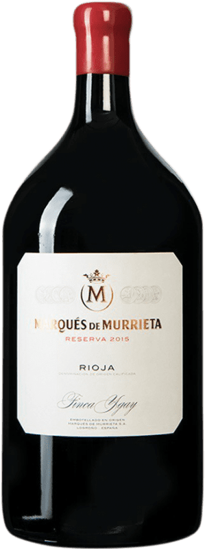 95,95 € Free Shipping | Red wine Marqués de Murrieta Reserva D.O.Ca. Rioja Spain Jéroboam Bottle-Double Magnum 3 L