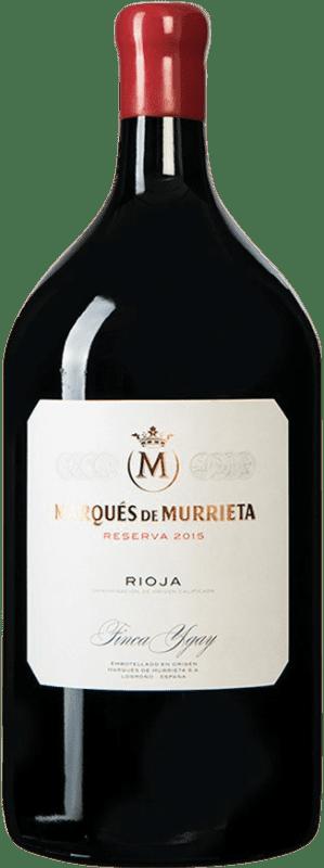 95,95 € Envoi gratuit | Vin rouge Marqués de Murrieta Reserva D.O.Ca. Rioja Espagne Bouteille Jéroboam-Doble Magnum 3 L