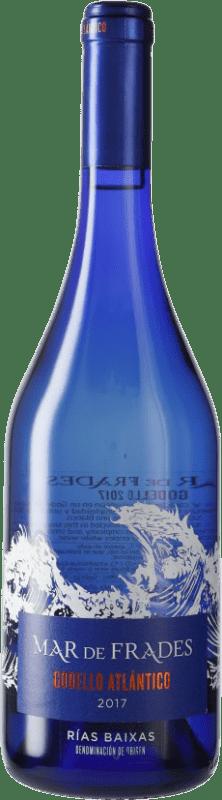 22,95 € Free Shipping | White wine Mar de Frades D.O. Rías Baixas Galicia Spain Godello Bottle 75 cl
