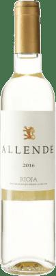 14,95 € Envío gratis | Vino blanco Allende D.O.Ca. Rioja España Viura, Malvasía Botella Medium 50 cl