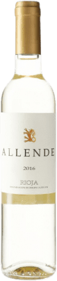14,95 € Free Shipping | White wine Allende D.O.Ca. Rioja Spain Viura, Malvasía Medium Bottle 50 cl