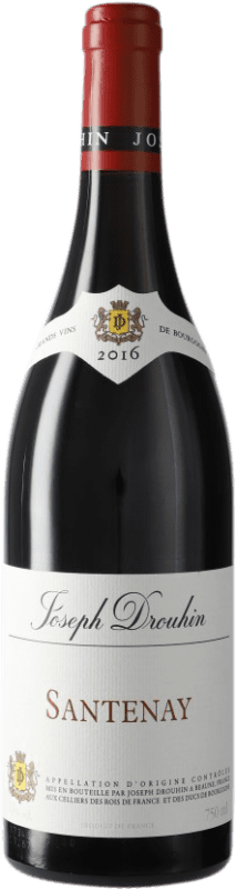 28,95 € Free Shipping | Red wine Drouhin A.O.C. Santenay Burgundy France Pinot Black Bottle 75 cl