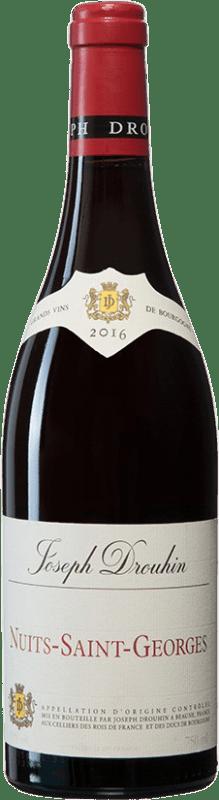 61,95 € 免费送货 | 红酒 Drouhin A.O.C. Nuits-Saint-Georges 勃艮第 法国 Pinot Black 瓶子 75 cl
