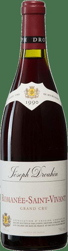 1 244,95 € 免费送货 | 红酒 Drouhin 1990 A.O.C. Romanée-Saint-Vivant 勃艮第 法国 Pinot Black 瓶子 75 cl