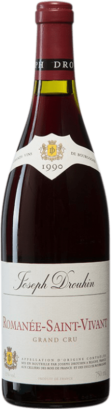1 244,95 € Free Shipping | Red wine Drouhin 1990 A.O.C. Romanée-Saint-Vivant Burgundy France Pinot Black Bottle 75 cl