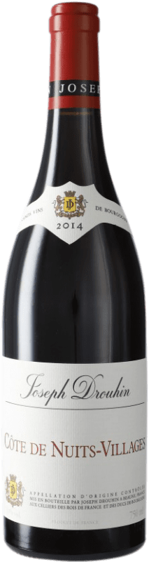 21,95 € | Red wine Drouhin A.O.C. Côte de Nuits-Villages Burgundy France Pinot Black Bottle 75 cl