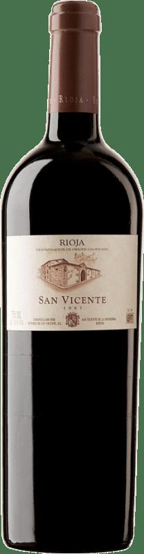 1 218,95 € Envoi gratuit | Vin rouge Señorío de San Vicente 1997 D.O.Ca. Rioja Espagne Tempranillo Poilu Botella Nabucodonosor 15 L