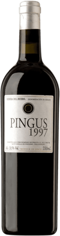 886,95 € Envoi gratuit | Vin rouge Dominio de Pingus 1997 D.O. Ribera del Duero Castille et Leon Espagne Tempranillo Bouteille 75 cl