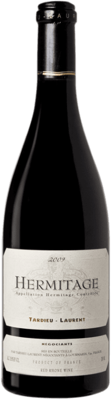 106,95 € Free Shipping | Red wine Tardieu-Laurent 2009 A.O.C. Hermitage France Syrah, Serine Bottle 75 cl