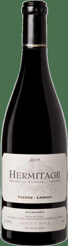 106,95 € Envoi gratuit | Vin rouge Tardieu-Laurent 2009 A.O.C. Hermitage France Syrah, Serine Bouteille 75 cl
