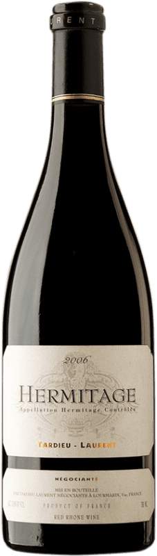 106,95 € Free Shipping | Red wine Tardieu-Laurent 2006 A.O.C. Hermitage France Syrah, Serine Bottle 75 cl