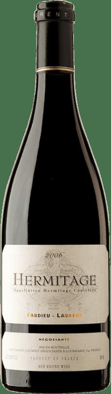 106,95 € Envoi gratuit | Vin rouge Tardieu-Laurent 2006 A.O.C. Hermitage France Syrah, Serine Bouteille 75 cl