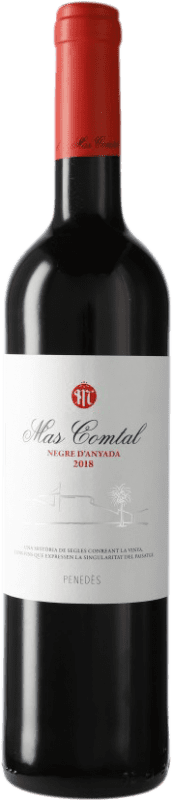 8,95 € Free Shipping | Red wine Mas Comtal D.O. Penedès Catalonia Spain Merlot, Cabernet Sauvignon Bottle 75 cl