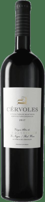 46,95 € Free Shipping   Red wine Cérvoles D.O. Costers del Segre Spain Tempranillo, Merlot, Grenache, Cabernet Sauvignon Magnum Bottle 1,5 L
