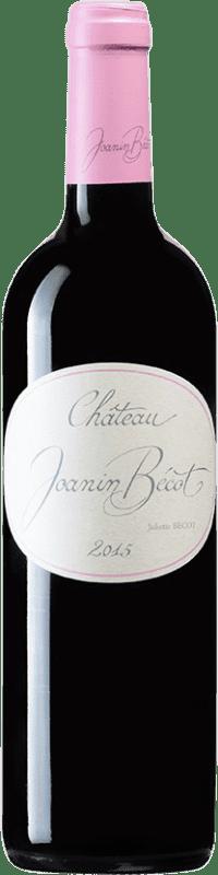 26,95 € Free Shipping | Red wine Château Joanin Bécot A.O.C. Côtes de Castillon Bordeaux France Merlot, Cabernet Franc Bottle 75 cl
