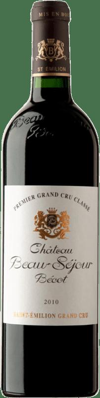 136,95 € Free Shipping | Red wine Château Joanin Bécot 2010 A.O.C. Saint-Émilion Bordeaux France Merlot, Cabernet Sauvignon, Cabernet Franc Bottle 75 cl