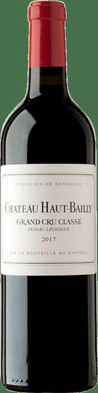 146,95 € | Red wine Château Haut-Bailly A.O.C. Pessac-Léognan Bordeaux France Merlot, Cabernet Sauvignon, Cabernet Franc Bottle 75 cl
