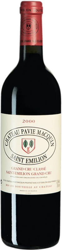 143,95 € Free Shipping | Red wine Château Pavie-Macquin 2000 A.O.C. Bordeaux Bordeaux France Merlot, Cabernet Sauvignon, Cabernet Franc Bottle 75 cl