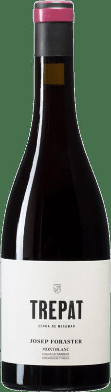 13,95 € Free Shipping | Red wine Josep Foraster D.O. Conca de Barberà Catalonia Spain Trepat Bottle 75 cl