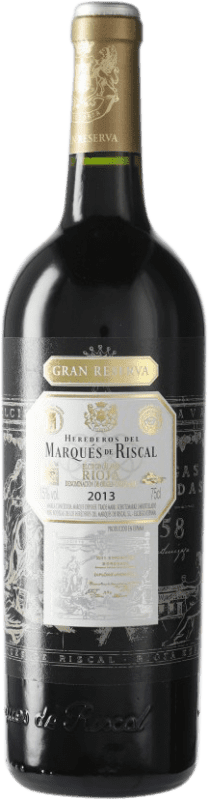 46,95 € Free Shipping | Red wine Marqués de Riscal Gran Reserva D.O.Ca. Rioja Spain Bottle 75 cl