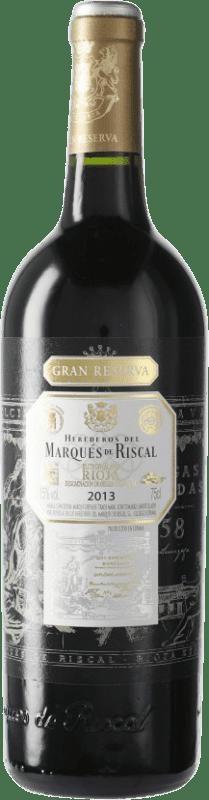46,95 € Envoi gratuit   Vin rouge Marqués de Riscal Gran Reserva D.O.Ca. Rioja Espagne Bouteille 75 cl