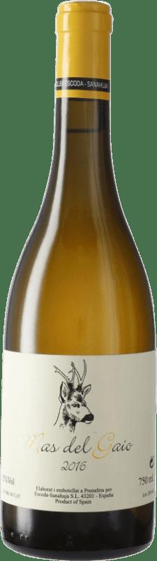 33,95 € Envío gratis | Vino blanco Escoda Sanahuja Mas del Gaio D.O. Conca de Barberà Cataluña España Botella 75 cl