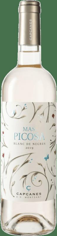7,95 € Envío gratis | Vino blanco Capçanes Mas Picosa Blanc de Negres D.O. Montsant España Botella 75 cl