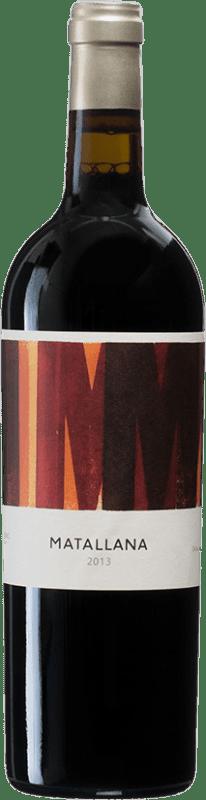 79,95 € Envío gratis | Vino tinto Telmo Rodríguez Matallana D.O. Ribera del Duero Castilla y León España Tempranillo Botella 75 cl