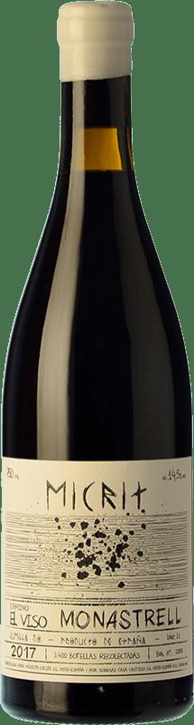 27,95 € Envío gratis | Vino tinto Casa Castillo Micrit D.O. Jumilla España Monastrell Botella 75 cl