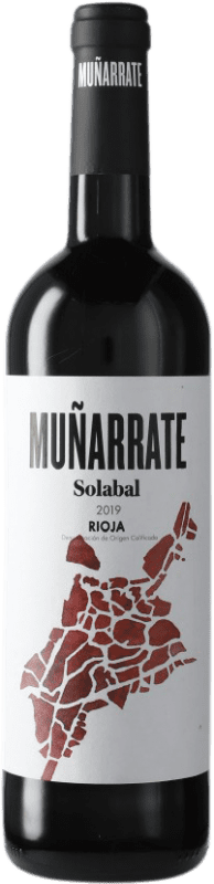 5,95 € Free Shipping | Red wine Solabal Muñarrate D.O.Ca. Rioja Spain Bottle 75 cl