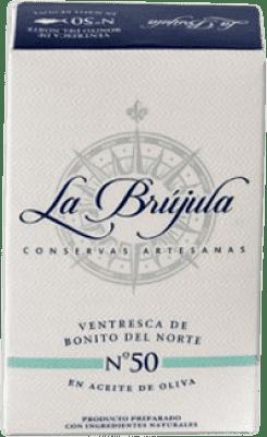 9,95 € Envoi gratuit | Conservas de Marisco La Brújula Navajas al Natural Espagne 4/6 Pièces