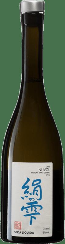 58,95 € Envío gratis | Sake Seda Líquida Núvol España Botella 70 cl