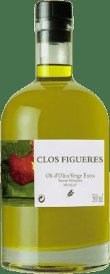 19,95 € 免费送货 | 食用油 Clos Figueras Oli d'Oliva Virgen Extra 西班牙 瓶子 Medium 50 cl