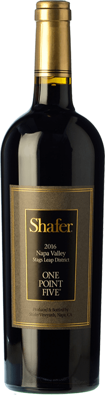 118,95 € Free Shipping | Red wine Shafer One Point Five I.G. Napa Valley California United States Cabernet Sauvignon Bottle 75 cl