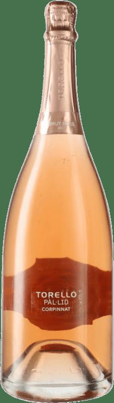 34,95 € Envoi gratuit | Rosé moussant Torelló Pàl·lid Rosé Brut Corpinnat Espagne Pinot Noir Bouteille Magnum 1,5 L