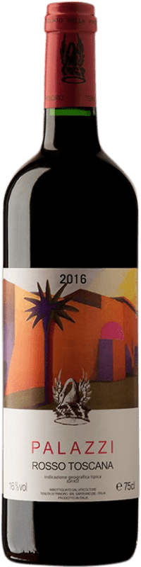 168,95 € Free Shipping | Red wine Tenuta di Trinoro Palazzi I.G.T. Toscana Italy Merlot Bottle 75 cl