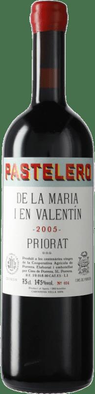 99,95 € Free Shipping | Red wine Cims de Porrera Pastelero de la Maria i en Valentín 2005 D.O.Ca. Priorat Catalonia Spain Grenache, Carignan Bottle 75 cl
