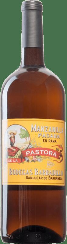 74,95 € | Fortified wine Barbadillo Pastora Pasada en Rama 2000 D.O. Manzanilla-Sanlúcar de Barrameda Sanlucar de Barrameda Spain Palomino Fino Magnum Bottle 1,5 L