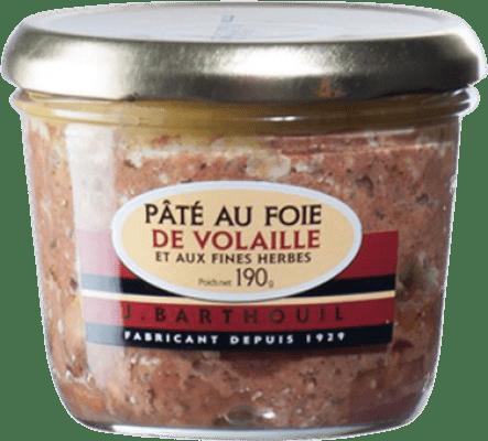 5,95 € | Foie y Patés J. Barthouil Pâté au Foie de Volaille France