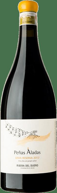 426,95 € Envío gratis | Vino tinto Dominio del Águila Peñas Aladas Gran Reserva D.O. Ribera del Duero Castilla y León España Tempranillo, Bruñal, Albillo Criollo Botella Mágnum 1,5 L