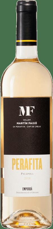 11,95 € 免费送货 | 白酒 Martín Faixó Perafita Blanc D.O. Empordà 加泰罗尼亚 西班牙 Picapoll 瓶子 75 cl