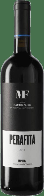 17,95 € 免费送货 | 红酒 Martín Faixó Perafita Negre D.O. Empordà 加泰罗尼亚 西班牙 Merlot, Grenache, Cabernet Sauvignon 瓶子 75 cl