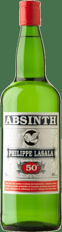 14,95 € Envío gratis | Absenta Bardinet Philippe Lasala Francia Botella 70 cl