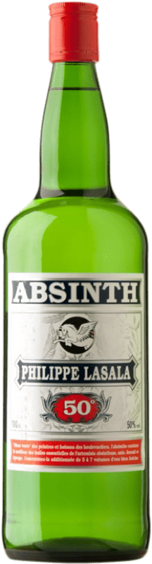 14,95 € Free Shipping | Absinthe Bardinet Philippe Lasala France Bottle 70 cl